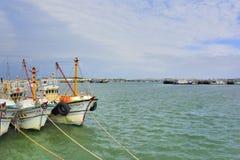South Liao fishing port in the Hsinchu,Taiwan. Stock Image