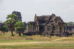 South Library of Angkor Wat - Khmer temple in Siem Reap province Stock Photo