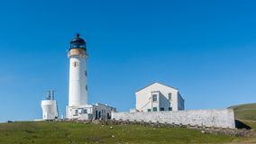 South lighthouse Fair Isle Stock Photo