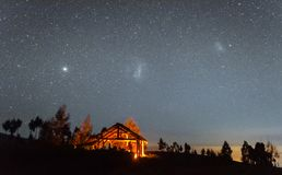 Southern nightscape royalty free stock photo
