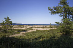 South Manitou Island. The bay side of South Manitou Island, part of Sleeping Bear National Park Royalty Free Stock Photos