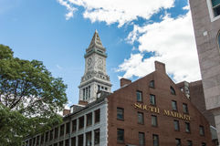 The South Market and other buildings in Boston. MA, USA Royalty Free Stock Photography