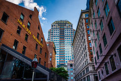 The South Market and other buildings in Boston, Massachusetts. Stock Image