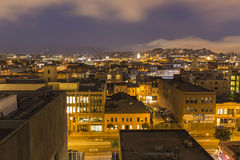 South of Market San Francisco Night Royalty Free Stock Images