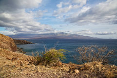 South Maui View Royalty Free Stock Photography