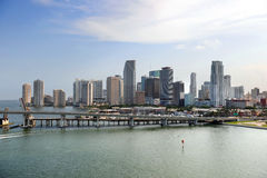 South Miami Beach in Early Morning Stock Photography