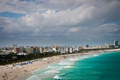 South Miami beach Royalty Free Stock Photography