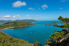South Molle Island, part of the Whitsunday Islands in Australia Royalty Free Stock Image