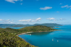 South Molle Island, part of the Whitsunday Islands in Australia Royalty Free Stock Photos
