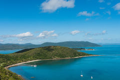 South Molle Island, part of the Whitsunday Islands in Australia Stock Photo