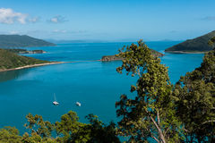 South Molle Island, part of the Whitsunday Islands in Australia Stock Image