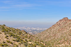 South Mountain scenic Phoenix Royalty Free Stock Photos
