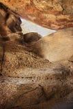 South Moutnain Rocks. Rock cave details at South Mountains Arizona Royalty Free Stock Image