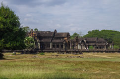 South and North Library of Angkor Wat - Khmer temple in Siem Rea Stock Images