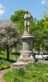 South Norwalk Civil War Memorial royalty free stock photo