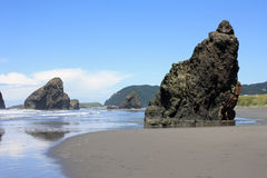 South Oregon Pacific Coast Stock Image