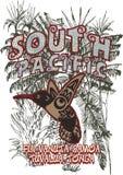 South Pacific illustrazione vettoriale