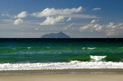 South Pacific Ocean. NZ Stock Image