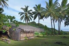 South Pacific Polynesian byRarotonga kock Islands Royaltyfria Bilder
