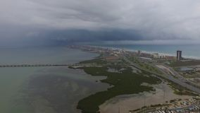 South padre island from the south side stock photography