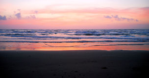 South Padre Island sunrise 3 Royalty Free Stock Images