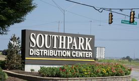 South Park Distribution Center, Memphis, TN royalty free stock image
