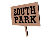 South Park logo vektor illustrationer