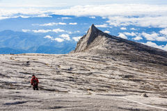 South Peak of Kinabalu mount Royalty Free Stock Images