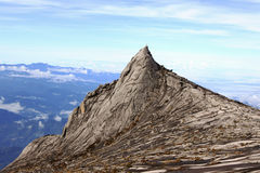 South Peak of Mount Kinabalu in Sabah, Malaysia Stock Photography