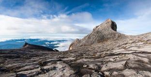 South peak and St John's peak of Kinabalu mount Royalty Free Stock Photo