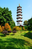 The south peak tower in Xianju. The photo was taken in Splendid China scenic spot Shenzhen city Guangdong province, China Stock Images
