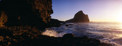 South Piha evening Royalty Free Stock Photo