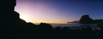 South Piha evening Stock Photo
