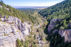 Free South Piney Canyon Aerial Royalty Free Stock Image - 68344626