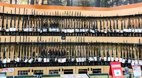 Guns for sale royalty free stock images