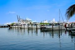 South Pointe Marina Stock Photos