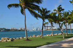 South Pointe park in Florida Stock Photography