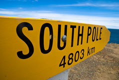 South Pole Stock Photo