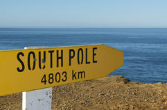 South Pole Sign Royalty Free Stock Photos