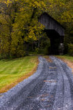 South Pomfret Covered Bridge - Vermont Stock Images