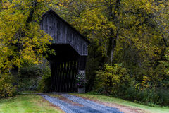 South Pomfret Covered Bridge - Vermont Royalty Free Stock Image