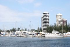 South Port in Gold Coast Stock Images