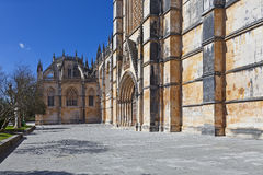 The South Portal of the Abey of Batalha Royalty Free Stock Images