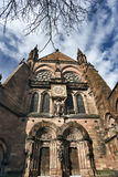 South portal of Strasbourg cathedral Stock Photos