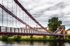 South Portland Street Bridge Royalty Free Stock Photos