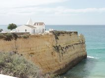 The South of Portugal is worth it ! - Beautiful road trip in Portugal. Everything in the South of Portugal, Algarve proposes charming beaches ranges but also Stock Images
