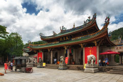 South Putuo Temple (Nanputuo Temple). Xiamen, China - May 27, 2016:Xiamen, South Putuo Temple is a famous Buddhist shrine Royalty Free Stock Images