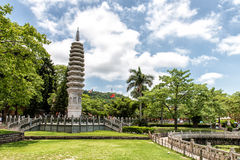 South Putuo Temple. Temple tower at South Putuo Temple in Xiamen Stock Image