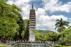 South Putuo Temple. Temple tower at South Putuo Temple in Xiamen Stock Photos