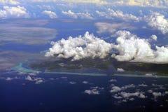 South of Raiatea island Stock Image